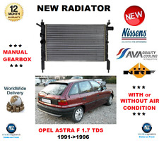FOR OPEL ASTRA F 1.7 TDS 1991->1996 NEW ENGINE RADIATOR ** OE QUALITY **
