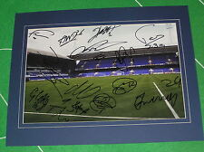 Ipswich Town FC 2015/16 Squad Signed x 14 & Mounted Portman Road Photograph