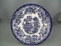 Queen's Tonquin Blue Dinner Plate