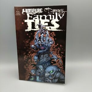 Image Comic Top Cow Witchblade The Darkness Family Ties TPB First Printing 2001