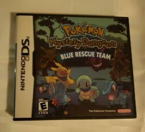 Pokemon Mystery Dungeon: Blue Rescue Team Nintendo DS tested working