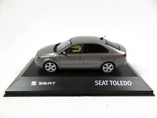 Seat Toledo IV Silver Grey 1:43 - Minichamps Diecast Dealer Model Car SE16