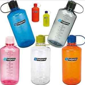 NALGENE Water bottle 1l Narrow Mouth Trinkflasche Wasserflasche NO BPA ENGHALS