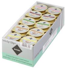 (1000g=15,99€) Rioba - 50 Portionen Wurst je 25 Gramm - gemischt