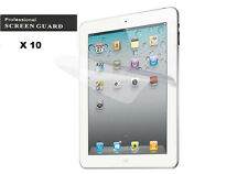 10 x Guard Shield Protector Cover Ultra Clear LCD Front Screen for iPad 2 3 4