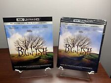 Big Fish (4K Uhd + Blu-ray + Digital + Slipcover) Factory Sealed