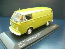 + VOLKSWAGEN VW T2 b Bus Transporter taigagrün von Minichamps in 1:43 400053060