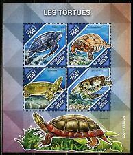 NIGER  2015 SOVIET TURTLES  SOUVENIR SHEET   MINT NH