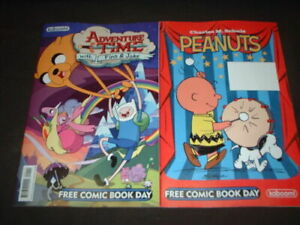 2012 Kaboom! - Peanuts/Adventure Time - Free Comic Book Day Issue (VF/NM)
