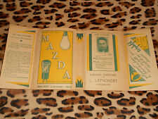PROTEGE-LIVRES - MAZDA - Librairie LEPROVOST, Avranches (50)