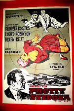 TIGHT SPOT 1955 EDWARD G.ROBINSON GINGER ROGERS UNIQUE RARE EXYU MOVIE POSTER