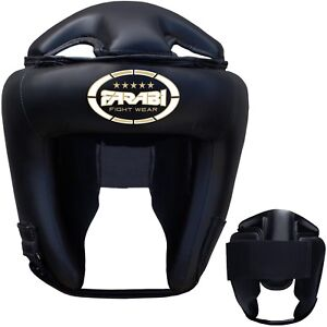 Farabi Boxing Head Guard Black