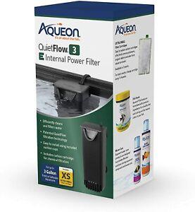 Aqueon Quiet Flow 3 Internal Power Filter Aquarium Filter