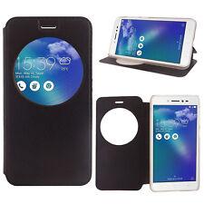"""Etui View Case Flip Folio Leather Cover NOIR pour Asus Zenfone Live ZB501KL 5.0"""""""