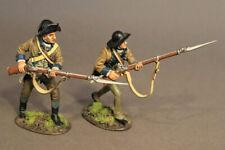 John Jenkins SNY-11 Two Infantry Advancing, 2nd New York Regiment