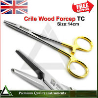 Crile Wood Surgical Needle Holding Hemostat Artery Clamp Forceps TC Veterinary