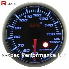 52mm Blue Stepper Motor Warning Oil Temperature Temp Gauge With Warning Light