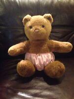 Build A Bear Brown Bear Pre-owned Stuffed Animal