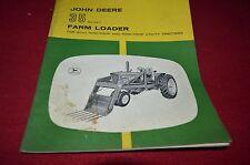 John Deere 35 Series 1 Farm Loader 2010 Tractor Operator's Manual Bwpa ver2