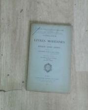 Catalogue de livres. Bibliothèque de feu Henri Chasles. 2e partie. Leclerc. 1908