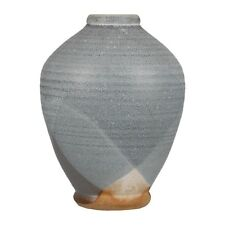 A studio pottery vase CC mark Stoneware English ? Unknown mark