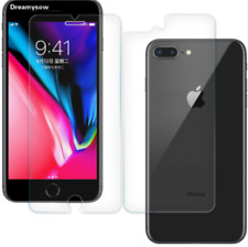 For iPhone 8 Plus, 7 Plus Protect Tempered Glass Screen Cover Front and Back