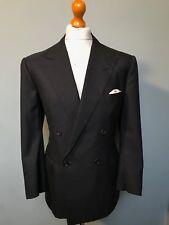 Vintage bespoke grey Dougie Hayward Savile Row suit size 42 short