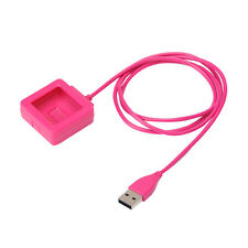 Pink Replacement USB Charging Charger Cable For Fitbit Blaze Smart Watch
