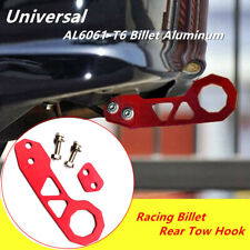 Car Red Racing Billet Aluminum Rear Tow Hook For Civic Accord Integra RSX Superb