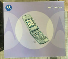 Motorola T720 - Silver Verizon CDMA Flip Phone - Orig box EUC