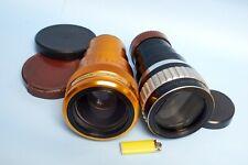 2 Anamorphic Lens - KOWA ANAMORPHIC 35 - H. CHRETIEN CINEMASCOPE