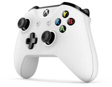 Microsoft Xbox One S White Wireless Bluetooth Controller Glacier Game Control