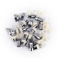 20 Pcs Plastic 5mm Light Emitting Diode LED Holder Mount Panel Display Pip A-L