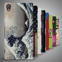 Slim Snap On Design Case Thin Protective Plastic Shell Cover For Sony Xperia Z3V