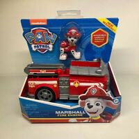 Paw Patrol Marshall's Fire Engine Truck W/ Collectable Figure Brand New