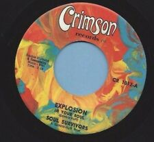 """SOUL SURVIVORS - CRIMSON 1012 """"EXPLOSION IN YOUR SOUL""""  FREE SHIPPING"""