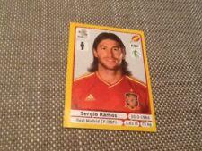 #291 Sergio Ramos España Panini Euro 2012 edición platino etiqueta real Madrid