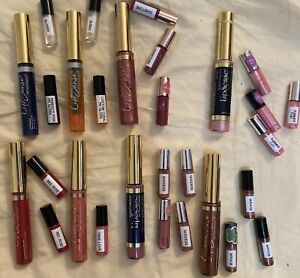 LipSense Minis 1.2 mL Rare Long Lasting Colors/Glosses! Irvine! HTF! Read plz!