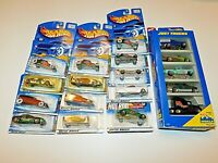 Lot of 18 NEW Hot Wheels Diecast 1996 Thru 2000 Collectible Hot Rod Vintage