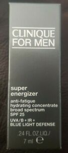 Clinique For Men Super Energizer Concentrate .24 oz Brand New