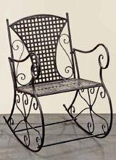 Chaises fauteuil à bascule antique pour la maison