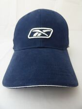 BNWT Junior Kids Reebok Navy Sports Baseball Cap White Logo 100% Cotton