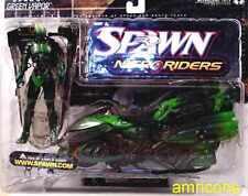 Nitro Riders Green Vapor Action Figure McFarlane Toys Spawn Series 16 New 1999