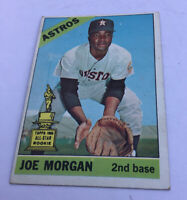 1966 Topps Set Break #195 Joe Morgan VG-VGEX