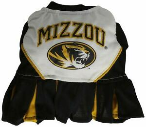 BNWT Mirage Missouri University Pet Cheerleading Outfit for Dogs - Small