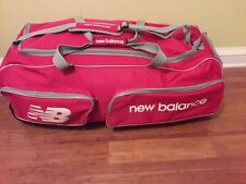 New Balance club wheelie sports individual cricket big  duffle bag.
