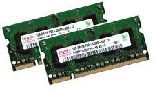 2x 1gb 2gb ddr2 Hynix 667 MHz Apple MacBook 1,1 2,1 RAM 2006/2007 memoria