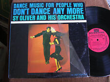 Sy Oliver/Dance Music for People Who Don't Dance Anymore/Riverside RLP 7502/M-