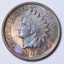 1896 Indian Head Cent Penny CHOICE BU FREE SHIPPING E121 NE