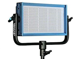 Dracast DRP-LED500-DV LED500 Daylight with V-Mount Battery Plate (Blue) SET OF 3